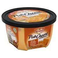 Président President Sharp Cheddar Spreadable Pub Cheese