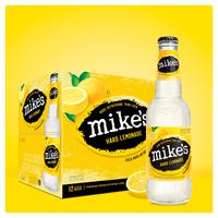 Mike's Hard Lemonade Beer, Malt Beverage, Premium, Hard Lemonade