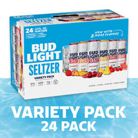 Bud Light Hard Seltzer Variety Pack, Cans