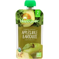 Happy Baby/Family Organics Clearly Crafted Apples, Kale & Avocados Organic Baby Food