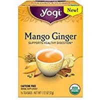 Yogi Tea Organic Mango Ginger Tea