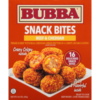 BUBBA burger Snack  Bites, Beef & Cheddar