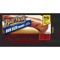 Ball Park Bun Size Franks