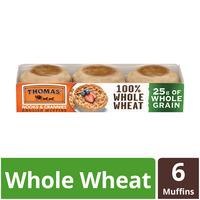 Thomas 100% Whole Wheat English Muffin