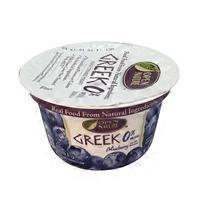 Open Nature 0% Milkfat Greek Yogurt Blueberry on the Bottom