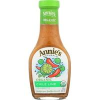Annie's Homegrown Organic Chile Lime Vinaigrette Dressing Organic