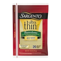Sargento Provolone Natural Cheese with Natural Smoke Flavor Ultra Thin® Slices