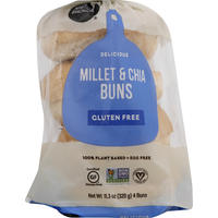 Little Northern Bakehouse Buns, Gluten Free, Millet & Chia
