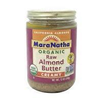 Maranatha Organic Raw Creamy Almond Butter
