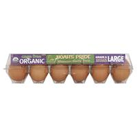 Noah's Pride  Cage Free Organic Brown Eggs