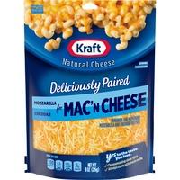 Kraft Traditional Cut Mozzarella & Cheddar Shredded Cheese for Mac 'N Cheese & Casseroles