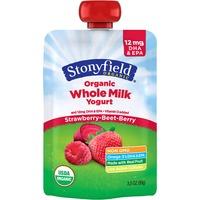 Stonyfield Organic Whole Milk Strawberry-Beet-Berry Organic Yogurt