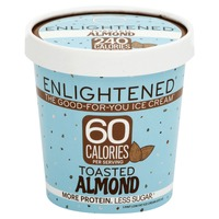 Enlightened Ice Cream Low Fat Toasted Almond