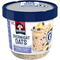 Quaker Overnight Oats Blueberry Banana & Vanilla Bliss Cereal