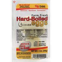 Almark Eggs, Hard-Boiled, Farm Fresh