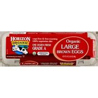 Horizon Eggs, Fresh, Brown, Large