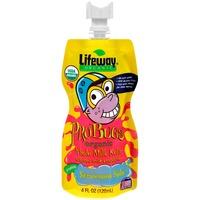 Lifeway ProBugs Strawnana Split Organic Whole Milk Kefir Cultured Milk Smoothie