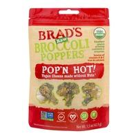 Brad's Raw Raw Broccoli Poppers Pop'n Hot!