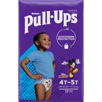 Pull-Ups Boys' Potty Training Pants Size 6, 4T-5T