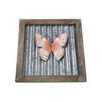 Floral Butterfly Plaque