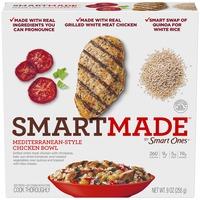 Smartmade Mediterranean-Style Chicken Bowl Frozen Entree