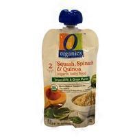 O Organics Stage 2 Squash Spinach & Quinoa Baby Food