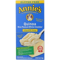 Annie's Homegrown Quinoa Rice Pasta & White Cheddar Macaroni & Cheese