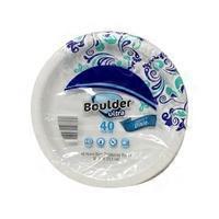 Boulder 10\  Ultra Heavy Duty Paper Plate  sc 1 st  Instacart & Boulder 8.5 in. Heavy Duty Decorative Paper Plates (45 ct) from ALDI ...