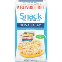 Bumble Bee Snack On The Run! with Crackers Tuna Salad
