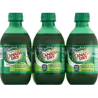 Canada Dry Ginger Ale, 6-Pack