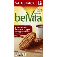 belVita Breakfast Biscuits, Cinnamon Brown Sugar, Value Pack