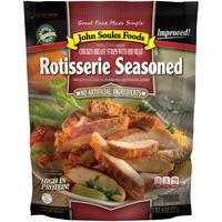 John Soules Foods Rotisserie Seasoned Chicken Breast Strips