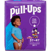 Pull-Ups Boys' Potty Training Pants Size 5, 3T-4T