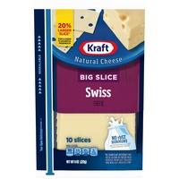Kraft Big Slice Swiss Cheese Slices