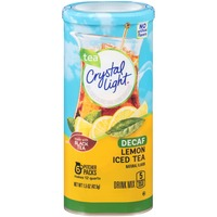 Crystal Light Decaf Lemon Iced Tea Drink Mix