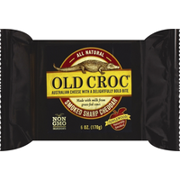 Old Croc Cheese, Smoked Sharp Cheddar