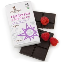 Lake Champlain Chocolates Dark Chocolate Raspberries Bar
