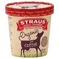 Straus Family Creamery Organic Coffee Ice Cream