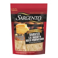 Sargento® Reserve Series™ Shaved Fourteen-Month Aged Parmesan Natural Cheese