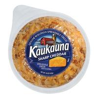 Kaukauna Sharp Cheddar Spreadable Cheeseball