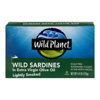 Wild Planet Wild Sardines In Extra Virgin Olive Oil Lightly Smoked