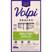 Volpi Roltini, Mozzarella & Prosciutto, Singles, 12 Pack