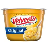 Kraft Velveeta Shells & Cheese Original Microwavable Shell Pasta & Cheese Sauce