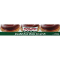 Krispy Kreme Doughnuts, Chocolate Iced Glazed