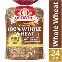 Brownberry/Arnold/Oroweat Whole Grains 100% Whole Wheat Bread