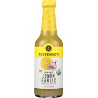 Tessemae's All Natural Organic Dressing & Marinade Lemon Garlic