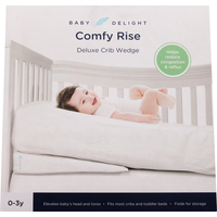 Baby Delight Crib Wedge, Deluxe, Comfy Rise