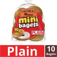 Thomas Plain Mini Pre-Sliced Bagels