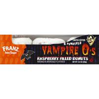 Franz Donuts, Raspberry Filled, Vampire O's