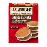 9a7bf0c1770 Jimmy Dean Snack Size Maple Pancake   Sausage Sandwiches